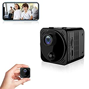 Flashandfocus.com 415abpX-mWL._SS300_ 4K HD Spy Camera Wireless Hidden Camera WiFi Long Battery Life Mini Real-time Remote View Mini Convert Camera with Phone…