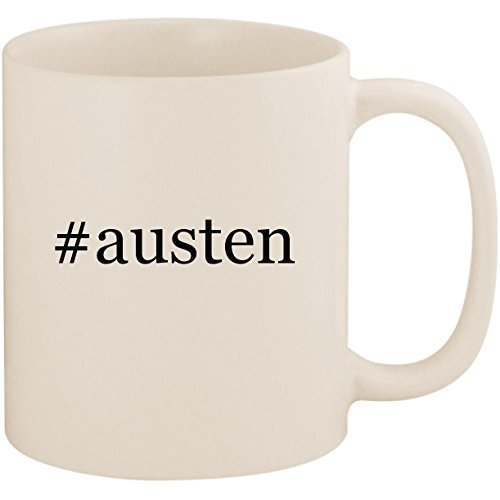 #austen - 11oz Ceramic Coffee Mug Cup, White