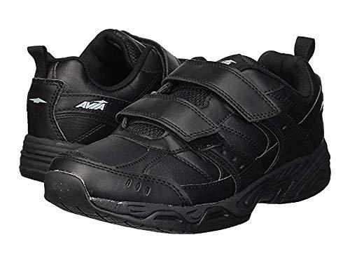 Avia Men's Avi-Union II Strap Food Service Shoe, Black/Iron Grey, 9.5 Medium -