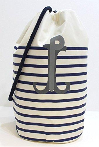 Jean Paul Gaultier, Housse à vêtements white with blue stripes 30cm(l) x 44cm(h) x 21cm(w)