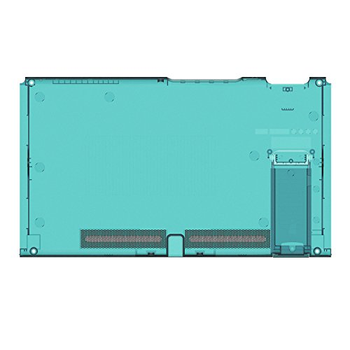 BASSTOP Translucent Back Plate DIY Replacement Housing Shell Case for NS NX Switch Console Without Electronics (Console-ice Blue)