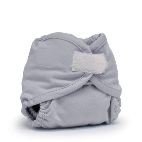 (Rumparooz Newborn Cloth Diaper Cover Aplix, Platinum )