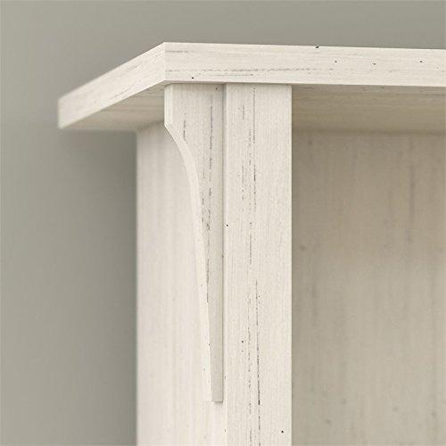 Bush Furniture Salinas Shoe Storage Bench in Antique White by Bush Furniture (Image #4)