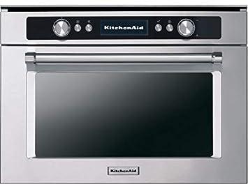Kitchenaid Horno a microondas + Grill AD Integrado kmmgx 45600 ...