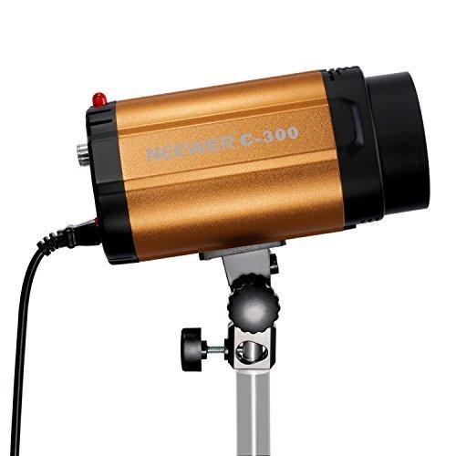 Neewer 300W Smart C-300/300SDI Monolight Strobe Flash Photography Studio Light Lamp head (Strobe Light Photography)