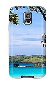 New Style Calaguas Durable Galaxy S5 Tpu Flexible Soft Case 4258446K87660308