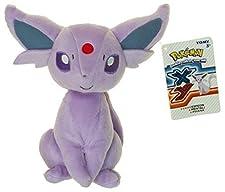 "Espeon ~8.25"" Mini-Plush: Pokemon Evolution of Eevee Series"