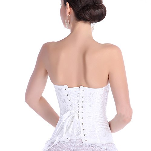 Surker Mujeres Zipper cintura Cincher Body Shaper De Cintura Trimmer de Back Support corsé de K?rper de Transformer Rote