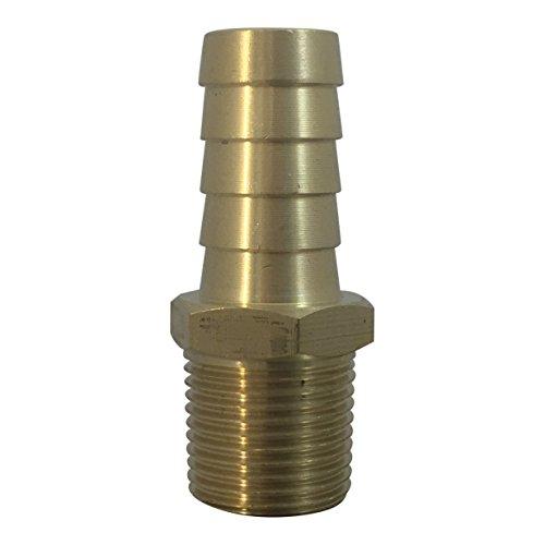Brass Fuel Line Hose Fitting [KFPS0806] Barb  1/2