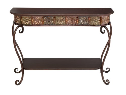 Deco 79 74362 Metal Wood Console Table, 32'' x 43'' by Deco 79