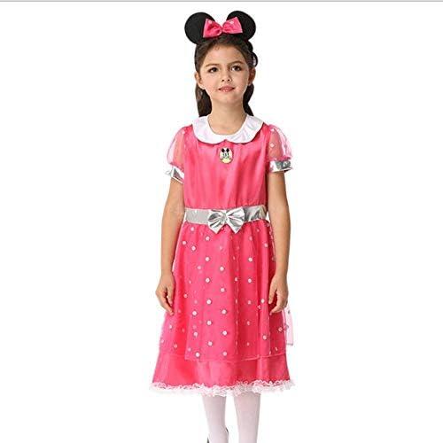 AIYA Disfraz de Anime Cosplay de niña de Halloween Minnie Show ...