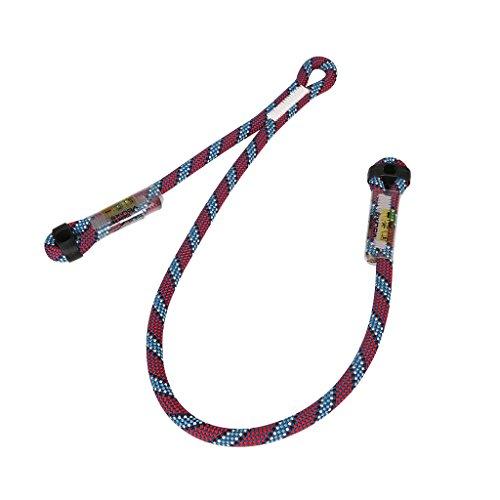 MonkeyJack Outdoor Rock Climbing Protection Progression Lanyard Dynamic Rope Lanyard Long Arm 70cm Short Arm 30cm