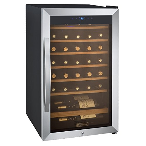 Cascina 34 Bottle Single Zone Wine Refrigerator (34 Bottle Wine Cellar)