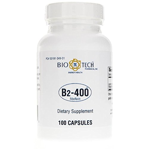 Biotech Pharmacal - B2-400 Riboflavin - 100 Count (Ffp) by BIO E=H TECH PHARMACAL, INC. ENERGY = HEALTH
