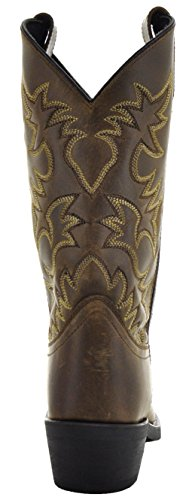 Stivali Da Uomo Castillo Mens Punta Quadrata Western Boots Tan