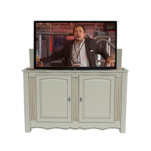 TV Lift - Fully Assembled Handcrafted Trinity TV Lift Cabinet + TV Lift Mechanism (Economy System) … (65