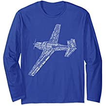 M20 Typography Airplane Aviation Flying Pilot T-Shirt