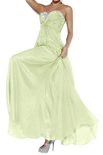 Por la noche la moda de la gasa de la Toscana de novia vestidos de novia por la noche Empire virgen de largo bola de vestidos de fiesta de agua Salbei