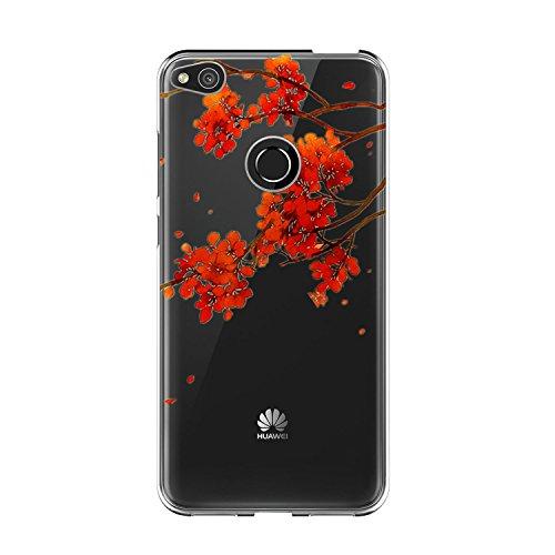 Di Cristallo Morbida Lite 2017 Copertura Completa Trasparente Custodia Proteggi Tpu Bordo Vanki Huawei Case 2017 Sottile Color6 Cover Silikon P8 17zBRwtq