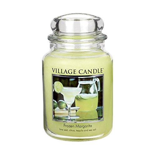 (Village Candle Frozen Margarita 26 oz Glass Jar Scented Candle, Large)