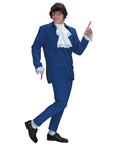 Fat Bastard Costumes (Austin Powers Costume Deluxe 1960 1970 International Man of Mystery Sizes: One Size)