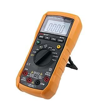 KKmoon MY68 4000 Cuentas Multímetro Digital AC DC Resistencia Capacitancia Frecuencia Ciclo de Trabajo Tester