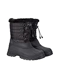 Mountain Warehouse Whistler Womens Snow Boot -Waterproof Winter Shoes