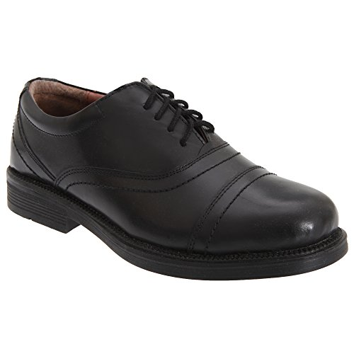Cimitarra Hombre Con Capucha Oxford Acolchado Zapatos Negro