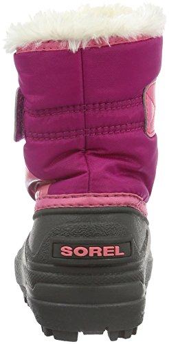 Sorel Childrens Commander-K Snow Boot, Red,8 M US Toddler