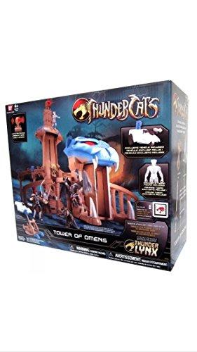 Qiyun New Bandai Thundercats Tower of Omen with Tygra Action Figure 045557331023