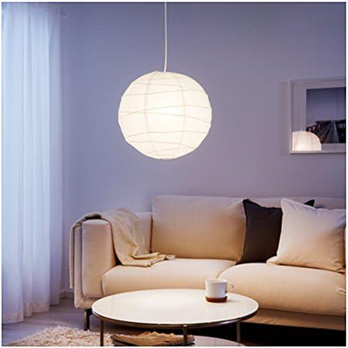 Pantalla lámpara de techo bola papel de arroz punto luz aplique ...