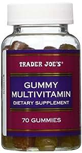 Trader Joe's Gummy Multivitamin, 70 Gummies (2 Pack)