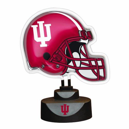 NCAA Indiana Neon Helmet (University Neon Lamp)