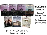 Downton Abbey Complete Series 1,2,3,4,5 & 6 + Secrets of Highclere Castle & The Manners of Downton Abbey (Limited Edition DVD)] -  Julian Fellowes, Hugh Bonneville