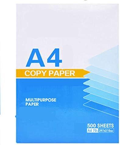 Druckerpapier A4 BLTLYX 500 Blatt A4 Voll Holz Zellstoff Fotokopie Papier Formate 70g Gedruckt Weißpapier Hersteller Büro Papier Kratzpapier 210 * 297mm A4 70g 500 Blatt