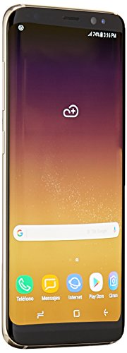 Samsung Galaxy S8 64GB Unlocked Phone - International Version (Maple Gold) (Best Deal On A Samsung S8)