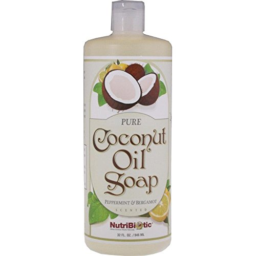 Nutribiotic Coconut Peppermint Bergamot Fluid
