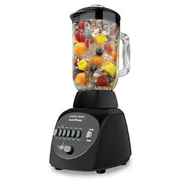 Applica Crush Master 10-Speed Batidora de vaso 450W Negro - Licuadora (Batidora de vaso, Negro, De plástico, Acero inoxidable, De plástico, ...
