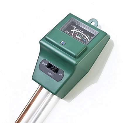 1 Pc Blameless Popular 3in1 pH Soil Tester Water Moisture Plant Flower Indicator Sensitive Check Color Green by Generic/UNBRAND