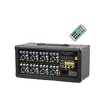 Kalo Kal8Ua200 8-Channel 200W Powered USB Mixer
