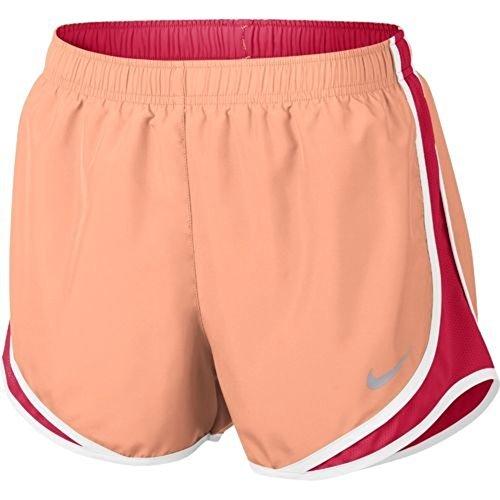16320acdaca4 Galleon - Nike Womens 3 Dry Tempo Running Shorts ( Bright Melon/White,  X-Small )