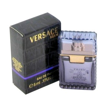 - VERSACE MAN by Gianni Versace for MEN: EDT .17 OZ MINI (note* minis approximately 1-2 inches in height)