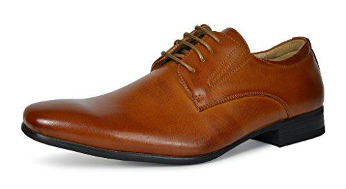 Bruno-MARC-GORDON-03-Mens-Formal-Classy-Snipe-Toe-Lace-Up-Leather-Lining-Oxford-Dress-Shoes