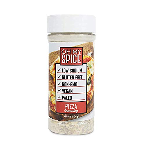 Pizza Seasoning Low Sodium Keto Seasoning, Kick Your New Years Resolution Off Right, Perfect for People looking for Paleo, Vegan, and Gluten-Free Seasoning for their Meals