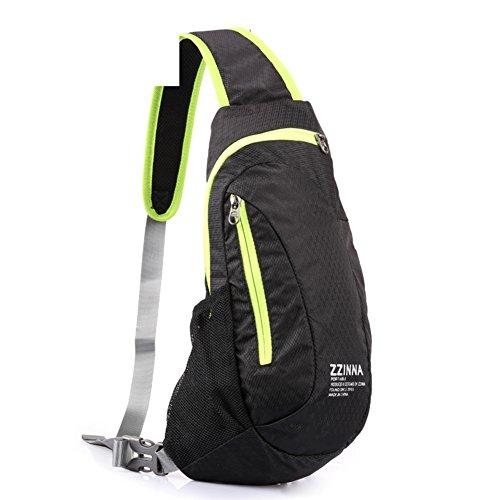 Leisure Canvas Bag Mens Shoulder Bag C Bumbag Chest Waterproof Messenger Outdoor A Bags Bag rHq8xApgrw