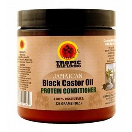 Tropic Isle Living Jamaican Black Castor Oil Hair Food, 4 oz (Pack of 2)