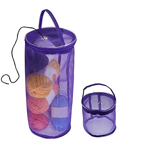 crochet sewing basket - 6