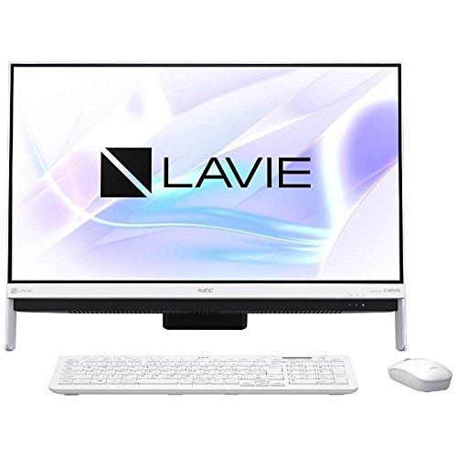 【Office なし】 / 【新品・カード決済可】 LAVIE Desk All-in-one DA350/ Celeron/4GB/23.8 PC-DA350HAW※ HAW インチ/1TB/ デスクトップパソコン/ NEC