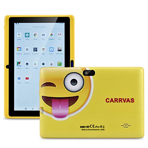CARRVAS-Tablet-for-Kids-7inch-WiFi-Android-81-KidsTablet-1GRAM16G-Pre-Installed-Iwawa-Parenting-Control-Tablet-with-Educational-Games-App