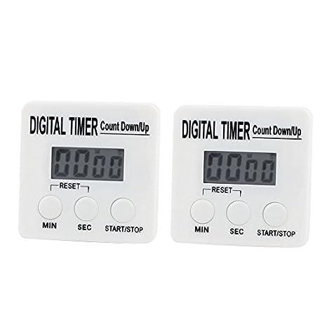 Amazon.com: eDealMax 2pcs cronómetro digital de cocina ...